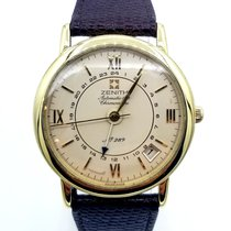 Zenith Yellow gold Automatic Champagne 36mm pre-owned