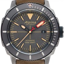 Alpina Steel 44mm Automatic AL-525LGG4TV6 new