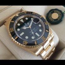Rolex Submariner Date Gelbgold 40mm Schwarz Keine Ziffern Deutschland, Mutlangen