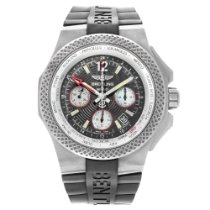 Breitling Titanium Automatic Black 45mm pre-owned Bentley GMT