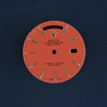 Rolex Day-Date 36 ROLEX Day Date STELLA Red ROT Tritium Zifferblatt DIAL 18038 1980 occasion