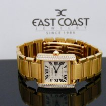 Cartier Tank Française Yellow gold 28x33mmmm Silver United States of America, Florida, Miami