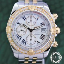 Breitling pre-owned Automatic 44mm White Sapphire crystal 30 ATM
