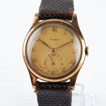 Rolex Rolex  Cal.600  9K Solid Gold Mid Size Dennison Vintage Çok iyi Sarı altın 30mm Elle kurmalı