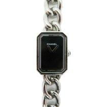 Chanel Première Steel 20mm Black