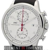 IWC Portuguese Collection Yacht Club Chronograph Silver Dial