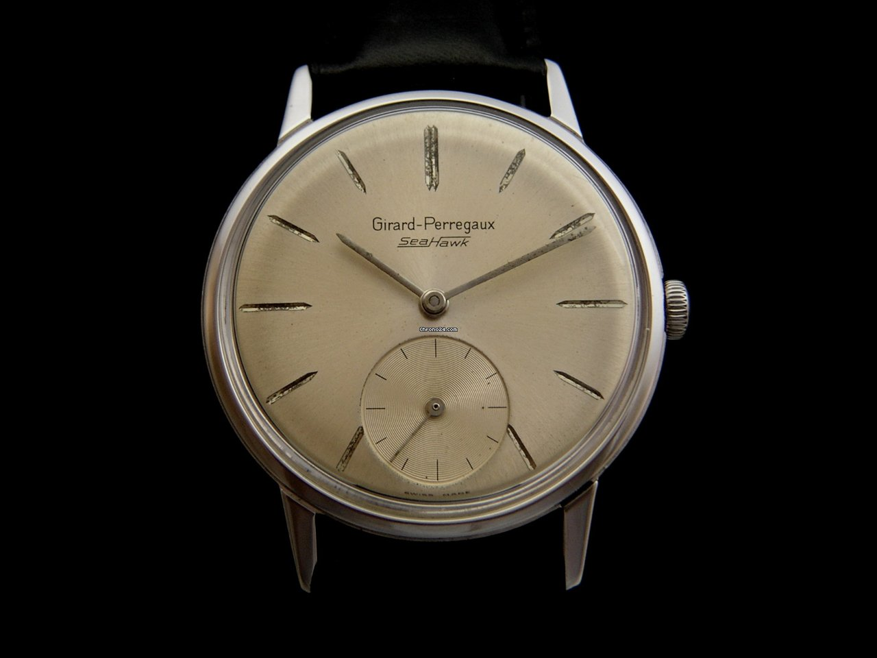Girard perregaux vintage sea hawk sold on chrono24 for Girard perregaux