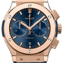 Hublot Classic Fusion Blue 521.OX.7180.LR New Rose gold 45mm Automatic
