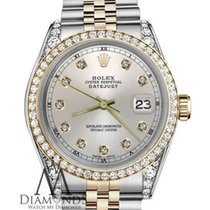 Rolex Lady-Datejust Arany/Acél 26mm Ezüst