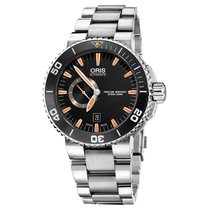 Oris Aquis Date Stainless Steel Mens Watch 74376734159MB