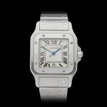 Cartier Santos Galbee Stainless Steel Unisex 1564 or W20018D6...