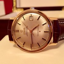 Omega 18K Solid Rose Gold Automatic watch Constellation Original