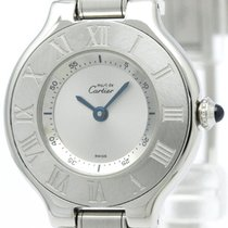 까르띠에 (Cartier) Must 21 Stainless Steel Quartz Ladies Watch...