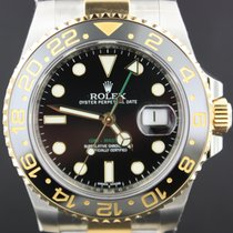 Rolex GMT-Master II Gold/Steel Black Dial, Ceramic 40MM Full Set