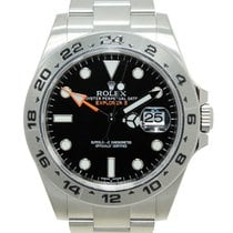 Rolex Stainless Steel Black Automatic 216570BK