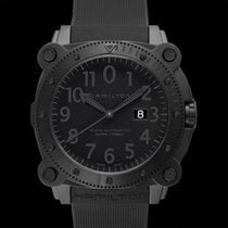 Hamilton Khaki Navy BeLOWZERO Steel 46mm Black United States of America, California, San Mateo