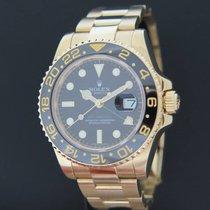 Rolex GMT-Master II Yellow Gold 116718LN