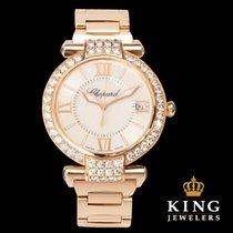 Chopard Imperiale 18K Rose Gold 31 Diamond Bezel