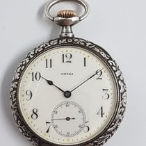 Omega 0,900 Silver Pocket Watch