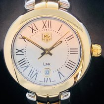 TAG Heuer Link Lady Goud/Staal 28mm Zilver