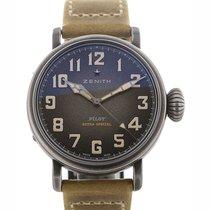 Zenith Pilot Type 20 Extra Special nuevo Automático Reloj con estuche y documentos originales 11.1940.679/91.C807