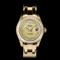 Rolex Pearlmaster Yellow gold 29mm Mother of pearl United Kingdom, London