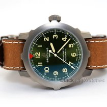Breitling Titanium Automatic Green 46mm new Navitimer 8