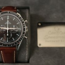 Omega Speedmaster Professional Moonwatch Acero 39.7mm Negro Sin cifras