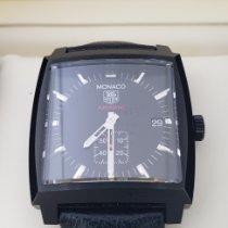 TAG Heuer Monaco Calibre 6 Steel 37mm Black No numerals United States of America, California, Tustin