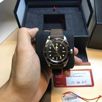 Tudor Black Bay Fifty-Eight pre-owned 39mm Black Leather