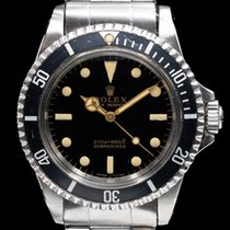 Rolex 5513 Staal Submariner (No Date) 40mm tweedehands