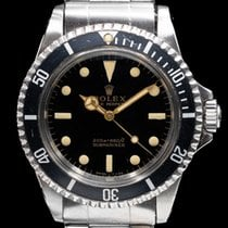 Rolex Submariner (No Date) Acero 40mm Árabes