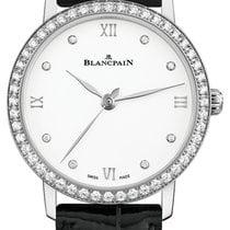 Blancpain Villeret Ultra-Slim Steel 29.2mm White Roman numerals