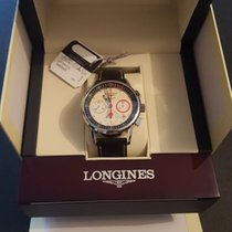 Longines Column-Wheel Chronograph L4.754.4.72.4 2013 new
