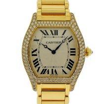 Cartier Tortue Gelbgold Silber