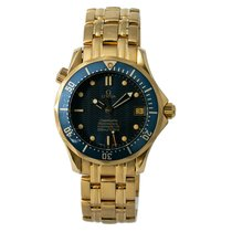 Omega Seamaster Diver 300 M Yellow gold 36mm Blue No numerals United States of America, New York, New York