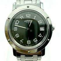 Hermès Clipper Steel 35mm Black Arabic numerals United States of America, New York, New York