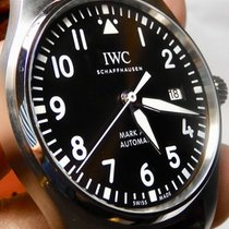 IWC Pilot Mark Stal 40mm Brązowy