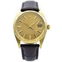 Rolex Oyster Perpetual Date Yellow gold 34mm Champagne United States of America, Indiana, Carmel