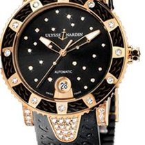 Ulysse Nardin Женские часы Lady Diver 40mm Автоподзавод подержанные Часы с оригинальной коробкой