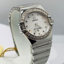 Omega Constellation Quartz Acier 22.5mm Nacre