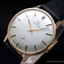 Certina Or rose 34mm Remontage manuel occasion