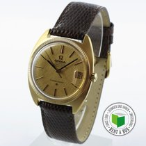 Omega Constellation Yellow gold 34.5mm Gold No numerals