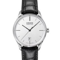 Union Glashütte Viro Date Steel 41mm White No numerals