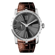 Roger Dubuis Excalibur Steel 42mm Grey Roman numerals United States of America, New York, New York