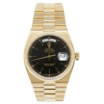 Rolex Day-Date Oysterquartz Yellow gold 36mm Black No numerals United States of America, California, Los Angeles