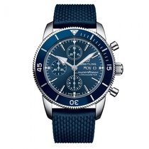 Breitling Superocean Héritage II Chronographe Steel 44mm Blue No numerals United States of America, Iowa, Des Moines