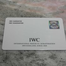 IWC vintage warranty card portoghese chrono ref.3714