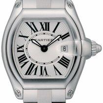 Cartier Roadster 2675 Ladies Watch W62016V3 Steel / Silver...