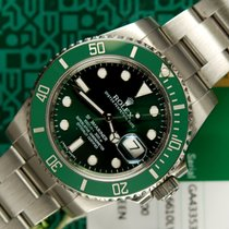 Rolex Submariner green 116610LV (HULK) ceramic D/P 2016